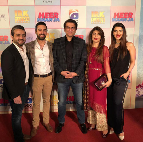 "IRK Films and Arif Lahkani Films Announce Media Collaboration with Geo Films for ""Heer Maan Ja"""