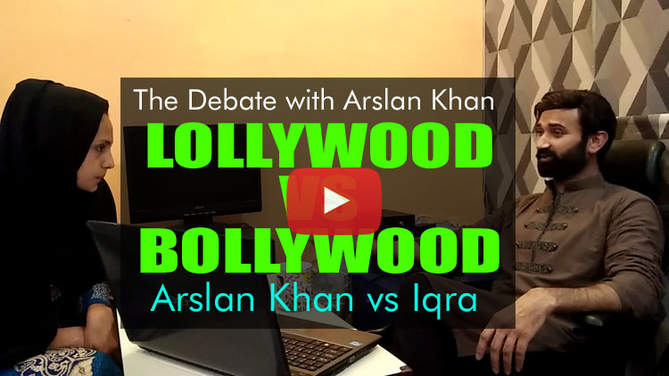 Lollywood Vs Bollywood | The Debate with Arslan Khan & Iqra