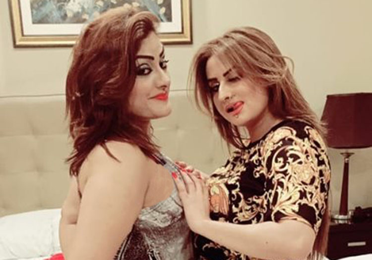 Afreen Khan Pictures with costar gone viral on Social Media