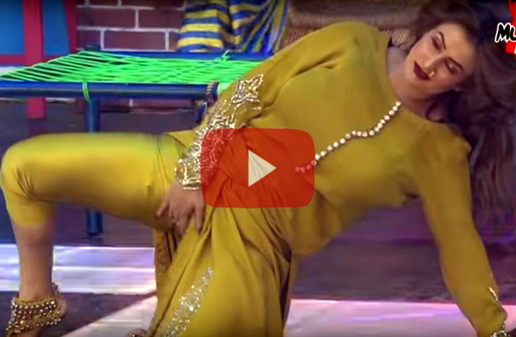 Afreen Khan Latest Hot Performance LIVE on Stage