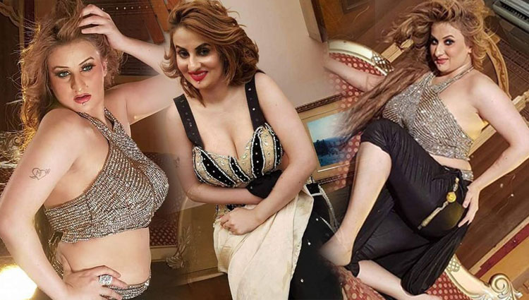 Afreen Khan Latest Pictures on the set of coming Lollywood Movie